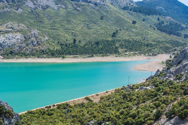 Das Areal rund um den Cúber ist ein Naturschutzgebiet.