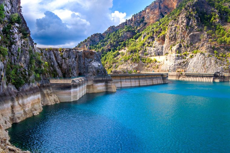 Den Green Canyon erreichen Urlauber von Side aus am besten mit dem Boot.