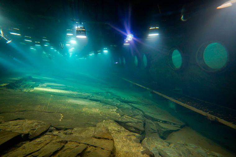 Das Baiheliang Museum ist Chinas erstes Unterwassermuseum.