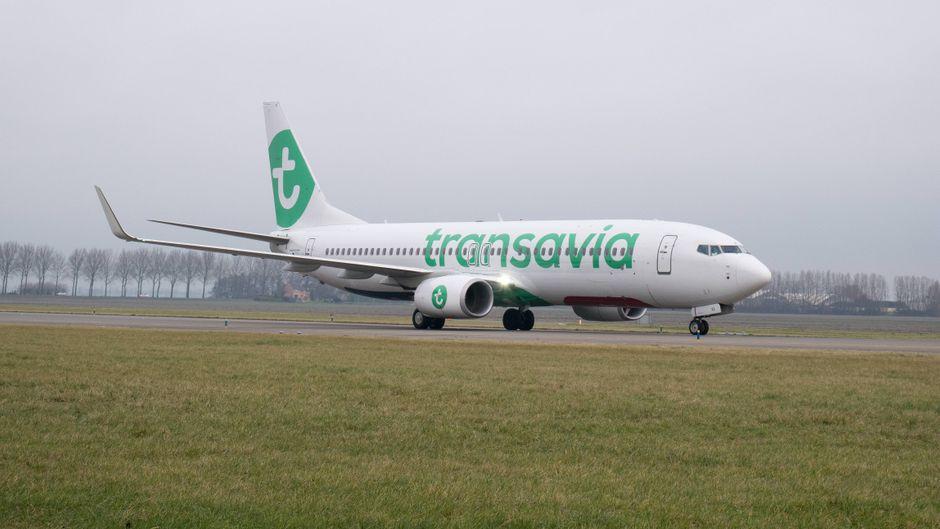 Wegen eines stinkenden Passagiers an Bord musste eine Transavia-Maschine zwischenlanden. (Symbolfoto)