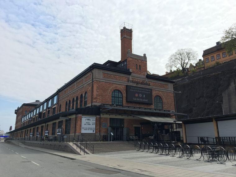 Das Museum Fotografiska befindet sich im Gebäude des ehemaligen großen Zollhauses.