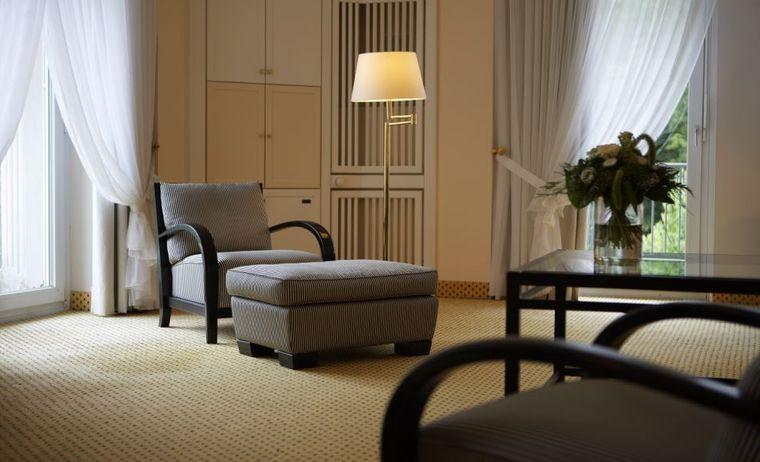 ein gemütliches Hotelzimmer des Steigenberger Hotels
