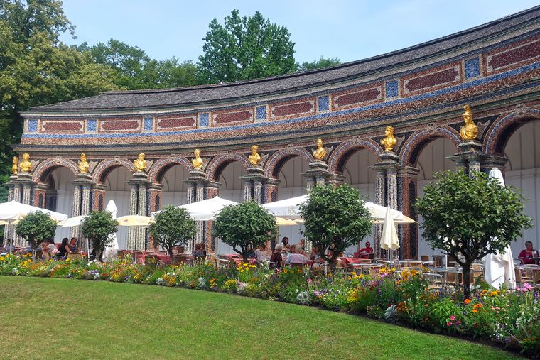 Die Eremitage in Bayreuth.