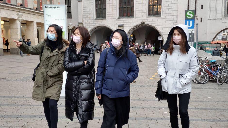 Chinesische Touristen sind in Deutschland gern gesehen. (Symbolbild)