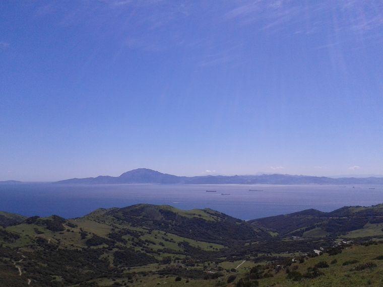 Mirador del Estrecho mit Blick nach Afrika.