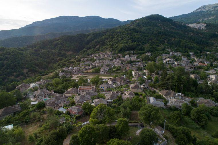 Papingo ist eines von beinahe 50 Dörfern, die zur grünen Region Zagori gehören.