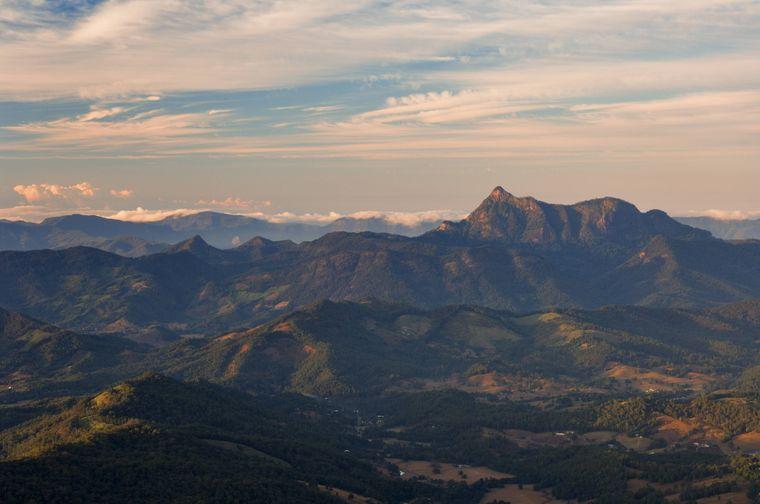 Mount Warning in Australien.