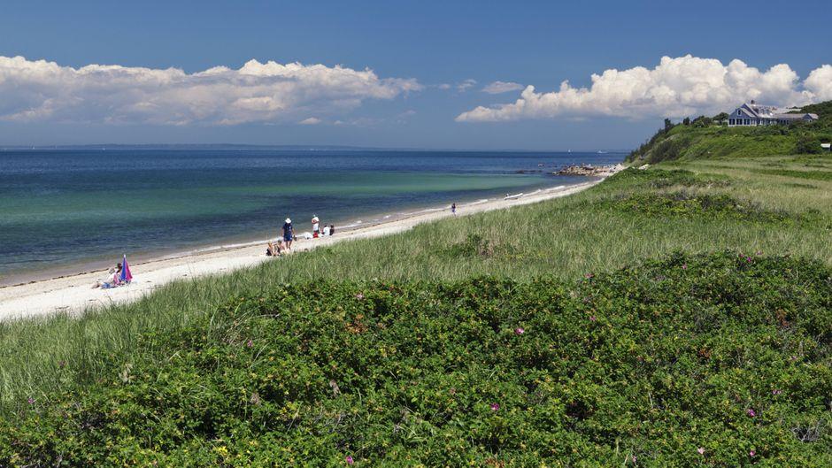 Die Privatinsel Sipson Island vor der amerikanischen Küste von Cape Cod steht seit 300 Jahren das erste Mal der Öffentlichkeit offen.