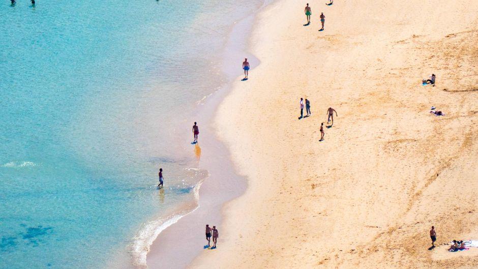 Ein Strand auf Teneriffa – im Norden der Insel ist Abwasser ins Meer gelangt.