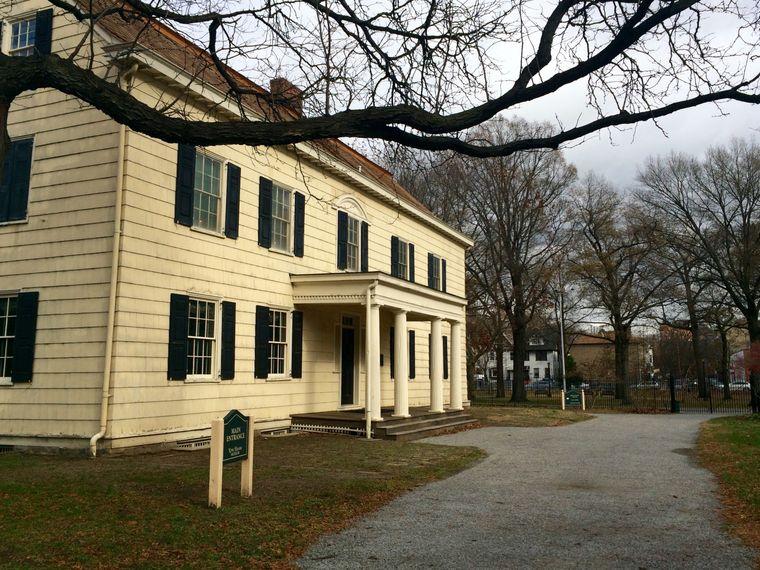 Das King-House an der Jamaica Avenue ist heute ein Museum.