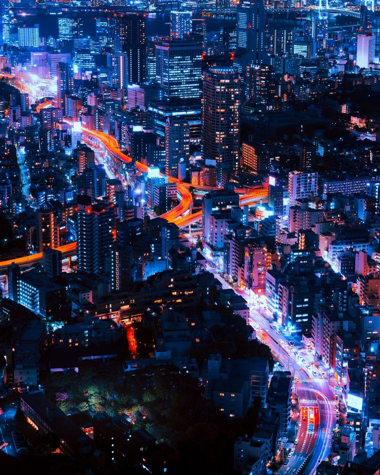 Roppongi ist das Szene Viertel für Nachtschwärmer.