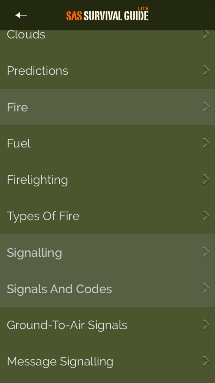 Der SAS Survival Guide erklärt dir zum Beispiel, wie Morsezeichen funktionieren.