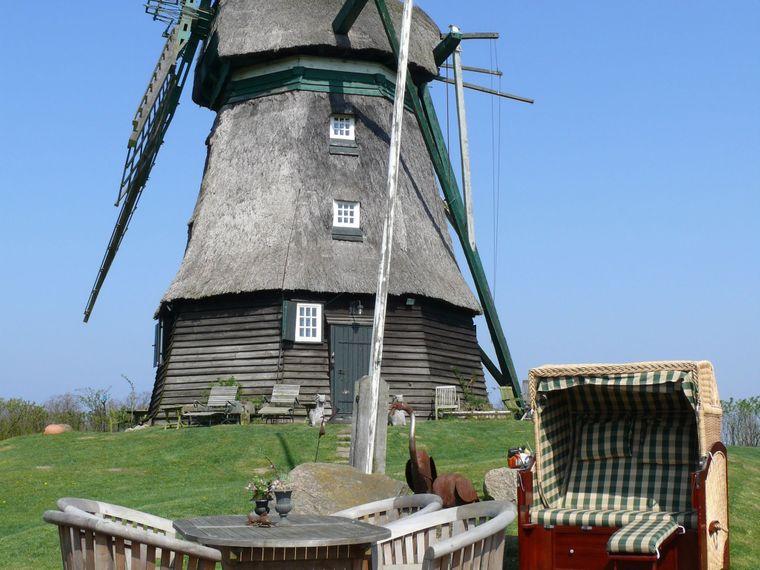 In der Farver Mühle übernachtet man direkt neben dem historischen Mahlwerk.