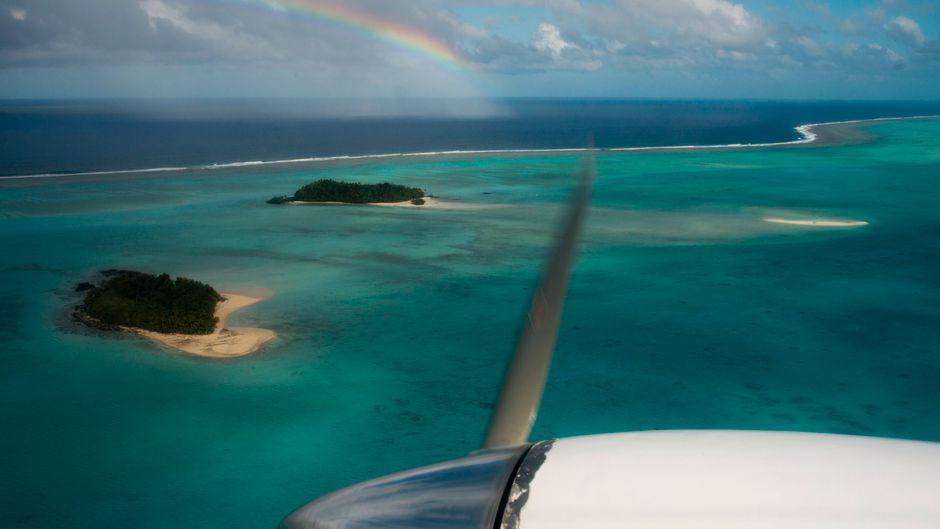 Die Cook-Inseln gehören zu den Orten auf der Welt, die nach wie vor coronafrei sind beziehungsweise keine Fälle gemeldet haben.