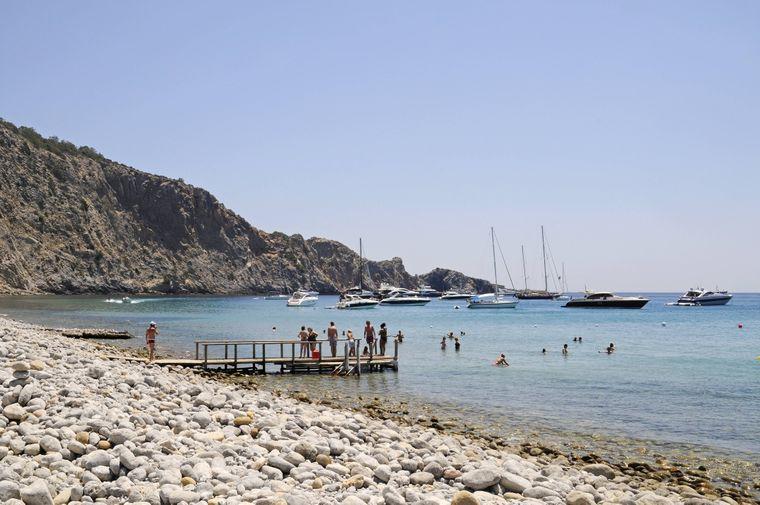 Strand Cala Jondal, Ibiza