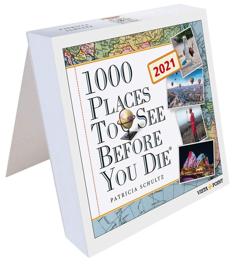Tageskalender: 1000 Places to see before you die