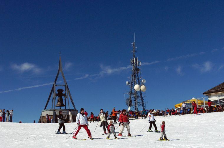 Der Kronplatz in Südtirol gehört zu den besten Skigebieten in den Alpen.