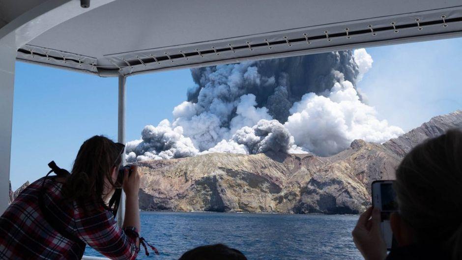 Der Vulkanausbruch auf White Island im Dezember 2019 forderte 21 Menschenleben.