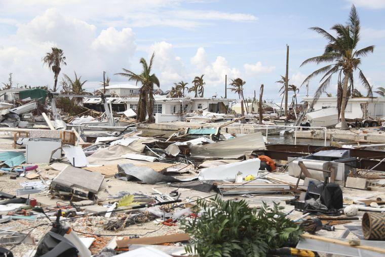 """Hurrikan """"Irma"""" hat im US-Bundesstaat Florida für Verwüstung gesorgt."""