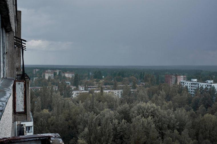 Am Boden zerstört: 50.000 Einwohner mussten die Stadt Prypjat nach der Katastrophe verlassen.