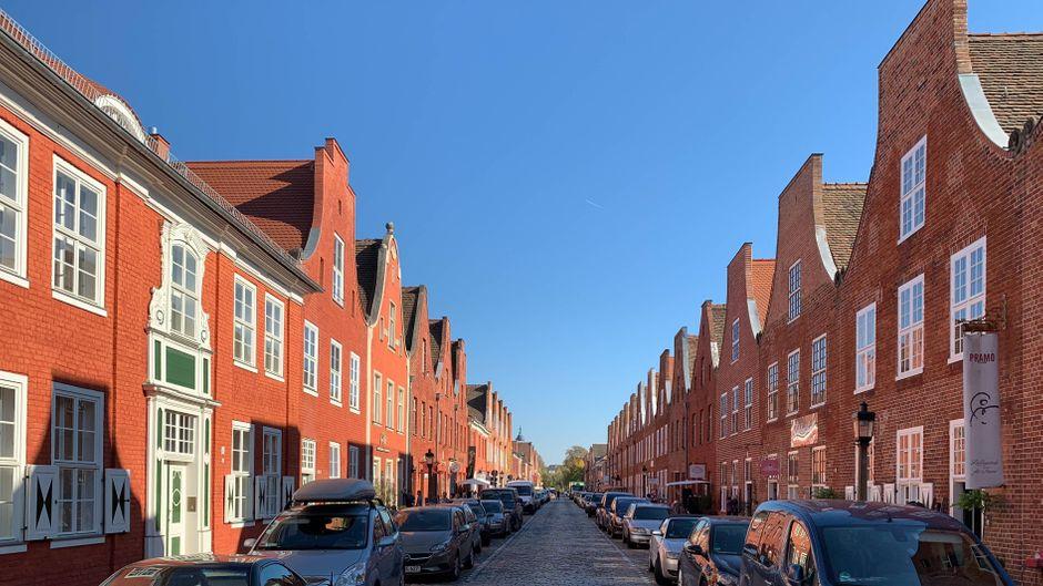 Das Holländische Viertel in Potsdam lädt ein zum Bummeln.