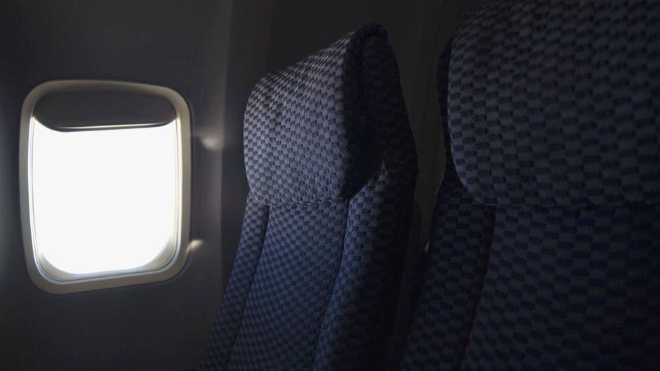Sitze im Flugzeug.