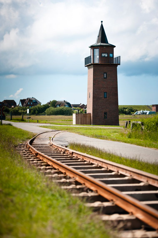 Der Leuchtturm Dagebüll ist heute ein Mini-Hotel.