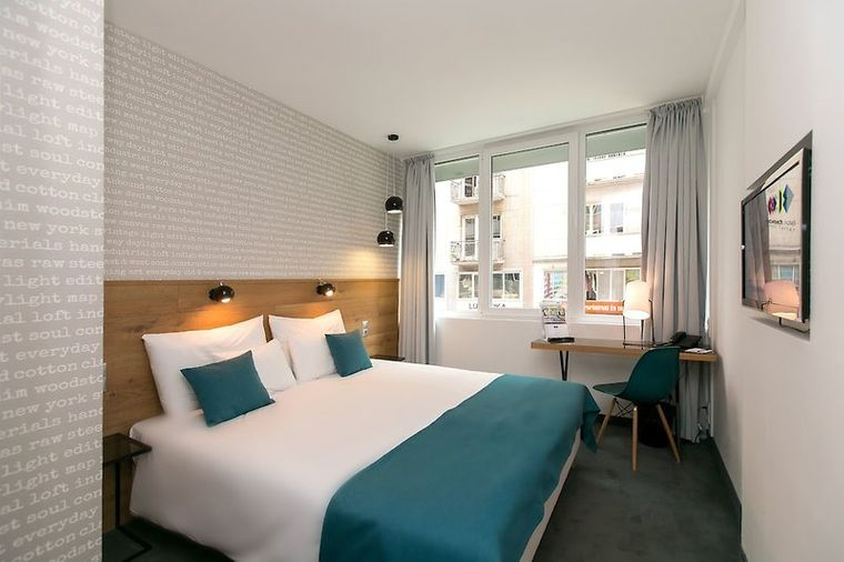 Roombach Hotel in Budapest.