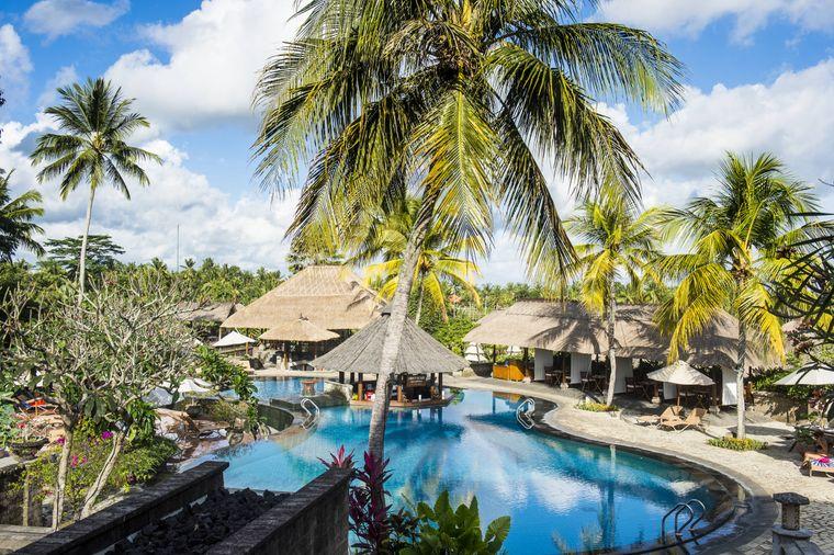 Hotelanlage auf Bali.