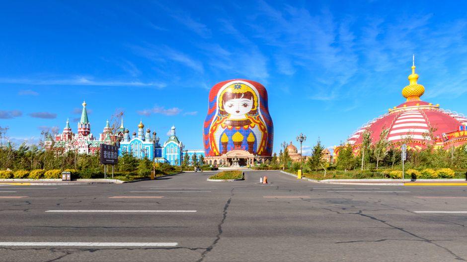 Matroschka-Hotel in der Mongolei