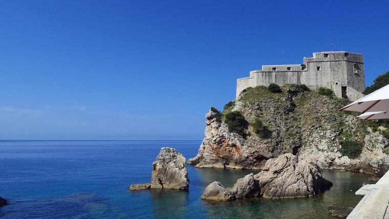 Die Festung der kroatischen Stadt Dubrovnik wird für Game of Thrones zum Roten Bergfried