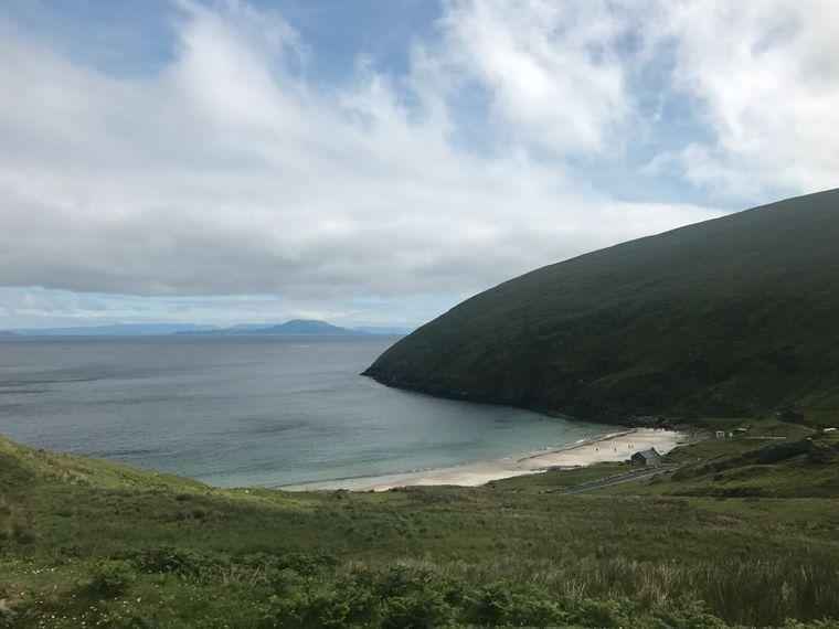 Keem Bay auf Achill Island, Irland.