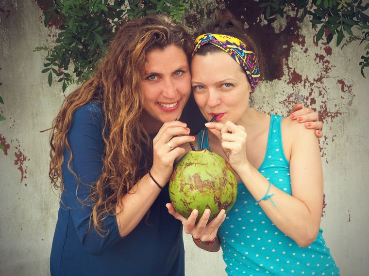 "Andrea Babilon (links) und Joanna Krupa, Gründerinnen von ""Querido Mundo""."