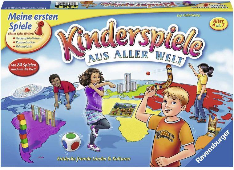 """Mit der Spielesammlung """"Kinderspiele aus aller Welt"""" können schon die Kleinsten die Welt spielerisch entdecken."""