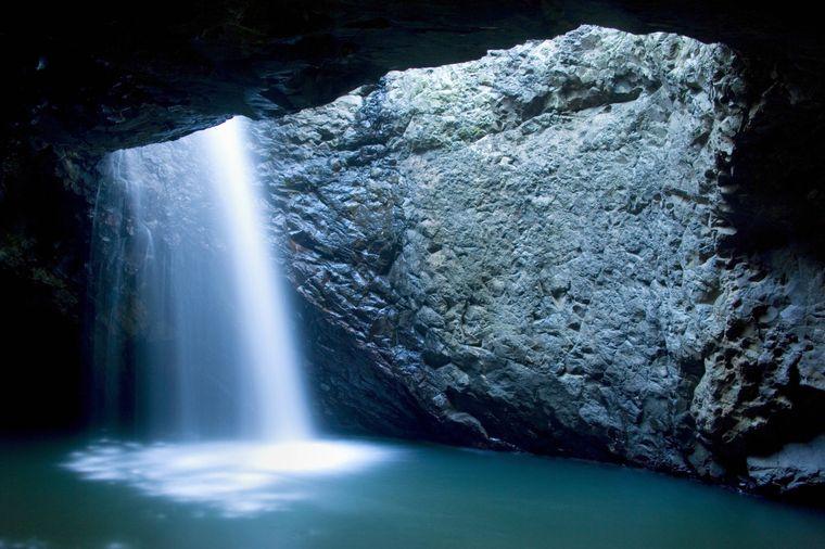 Wasserfall im Springbrook-Nationalpark.