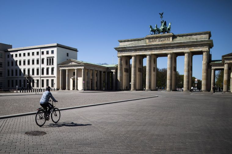 Brandenburger Tor in Berlin.