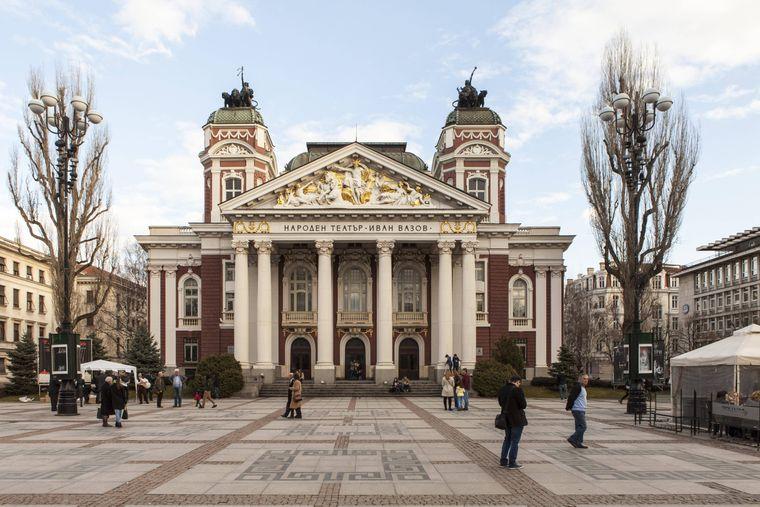 Das Nationaltheater Iwan Wasow.