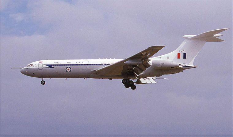 Noch vor wenigen Jahren gehörte die Turbine zu einem Flugzeug der Royal Air Force, das im Jahr 2013 ausgemustert wurde.