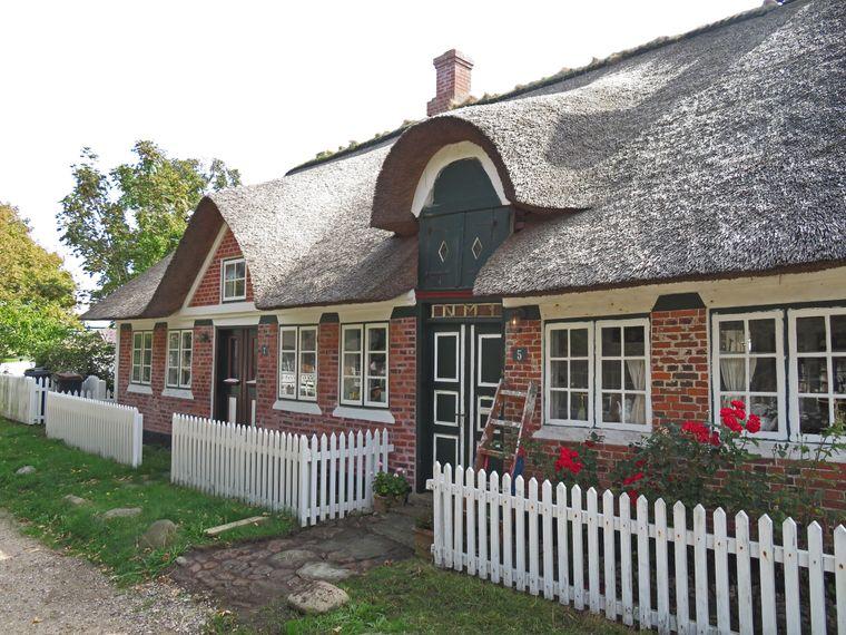 Die Häuser auf Sønderho stammen aus dem 16. und 19. Jahrhundert.