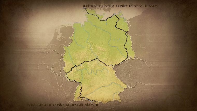 Diese Route ist Enno Seifried durch Deutschland gewandert.