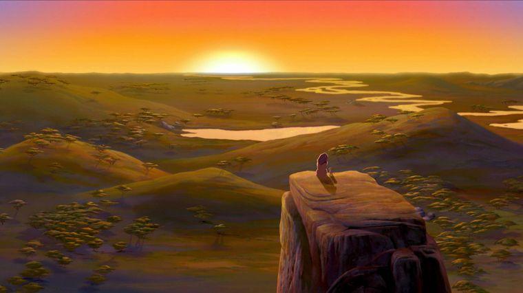 """Die Welt aus """"König der Löwen"""" findest du in Afrika."""