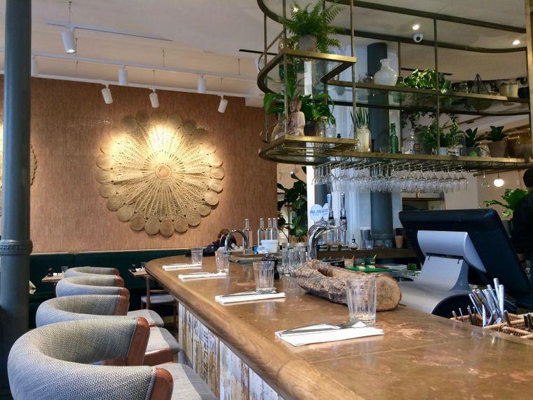 Das Restaurant Farmacy im Londoner Stadtteil Notting Hill.