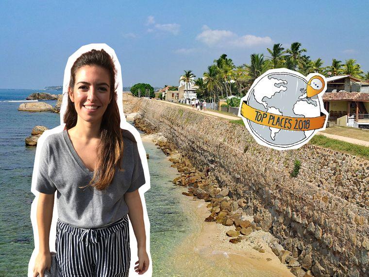 reisereporterin Seden ist überwältigt von Galle in Sri Lanka.