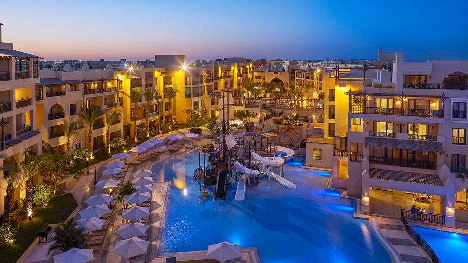 Rund 1.600 Gäste befanden sich während der Tragödie im Steigenberger Aqua Magic Hotel in Hurghada. (Symbolfoto)