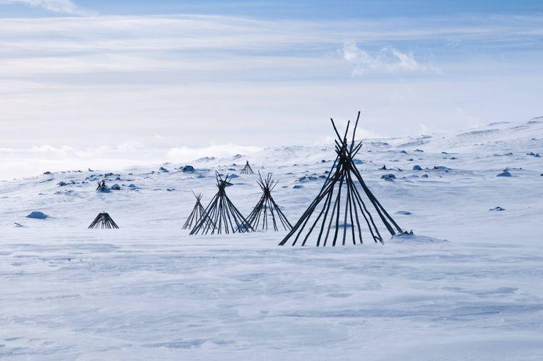 Der Nationalpark Padjelanta in Schwedisch-Lappland.