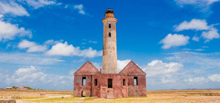 Der Leuchtturm von Klein Curaçao wurde im Jahr 1850 gebaut.