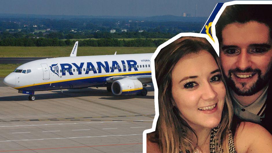 Mairéad wollte ihren Freund Christopher zum 30. Geburtstag mit einem Urlaub überraschen – doch Ryanair machte ihr einen Strich durch die Rechnung.