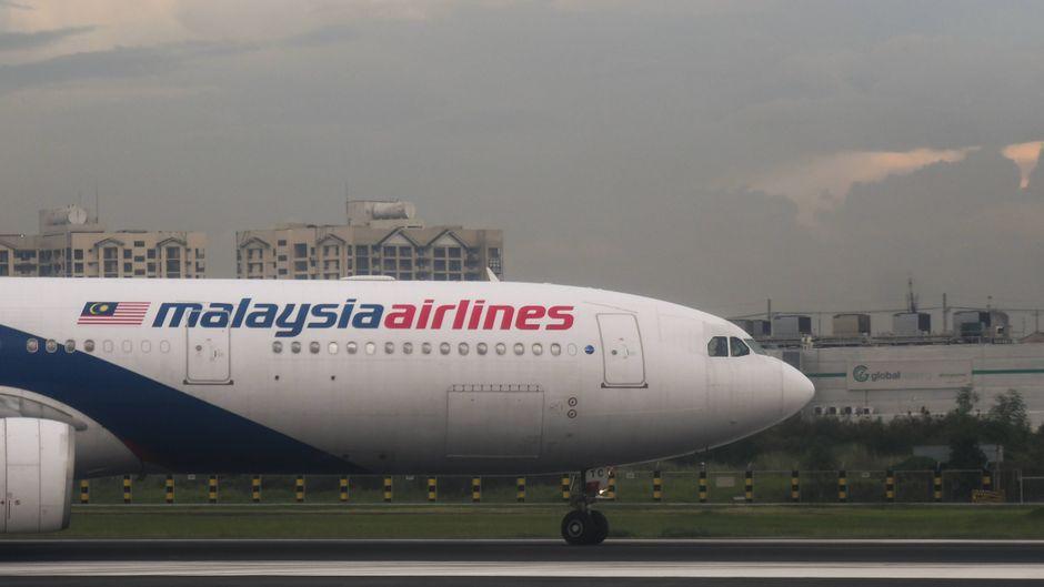 Flugzeug der Malaysia Airlines. (Symbolfoto)