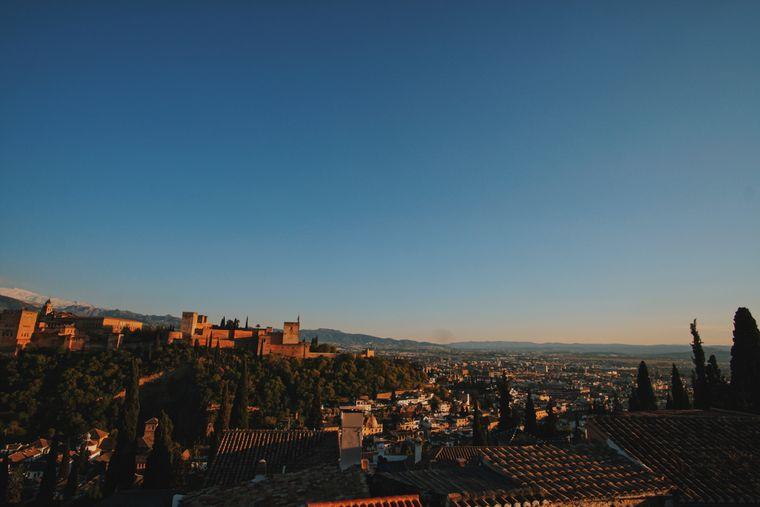 Granadas Panorama raubt vielen Besuchern den Atem.