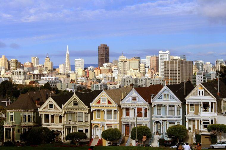 Die Steiner Street in San Francisco.